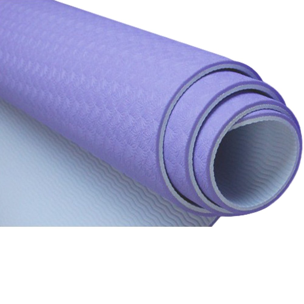 高密度メモリfoam- Non Toxic、ラテックスフリー、PVCフリーヨガマット100TPE材質の最新テクノロジーでヨガ  パープル B074BSW7X8