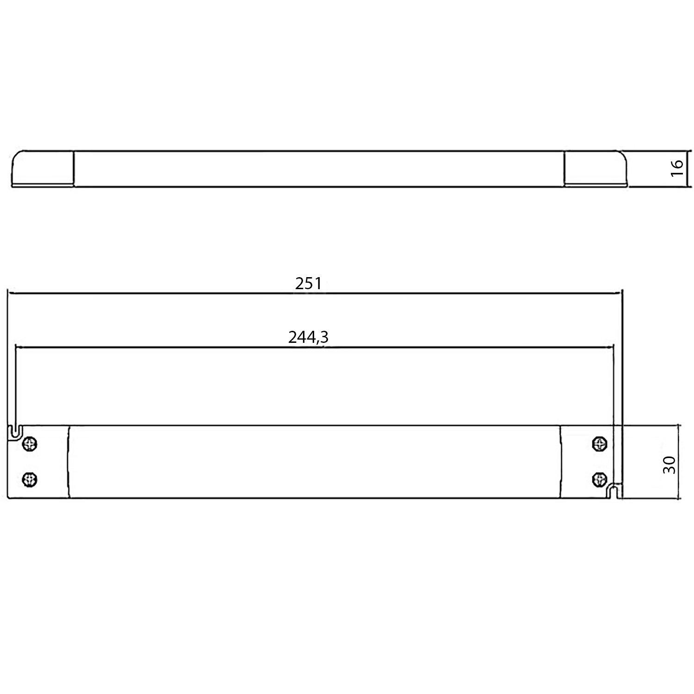 UltraSlim bloc dalimentation LED Transformateur