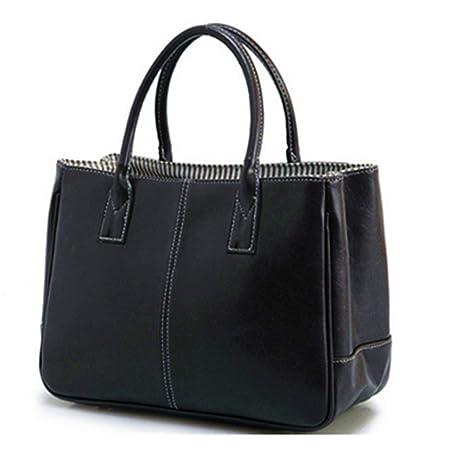 1d563b927627 Amazon.com: UOXMDNJC Women Pu Leather Handbag Large Handbags Women ...