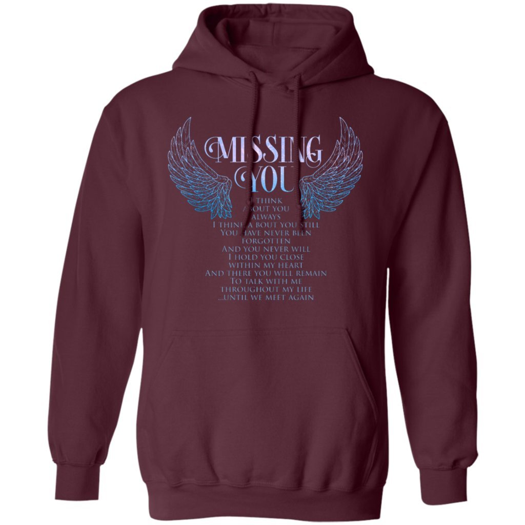 Missing You T Think About You Always Hoodie Funny Gift Tee