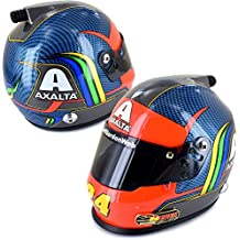 BrandArt Jeff Gordon 24Ever 1/3 Scale Rainbow Axalta Mini Collectible NASCAR Replica Helmet