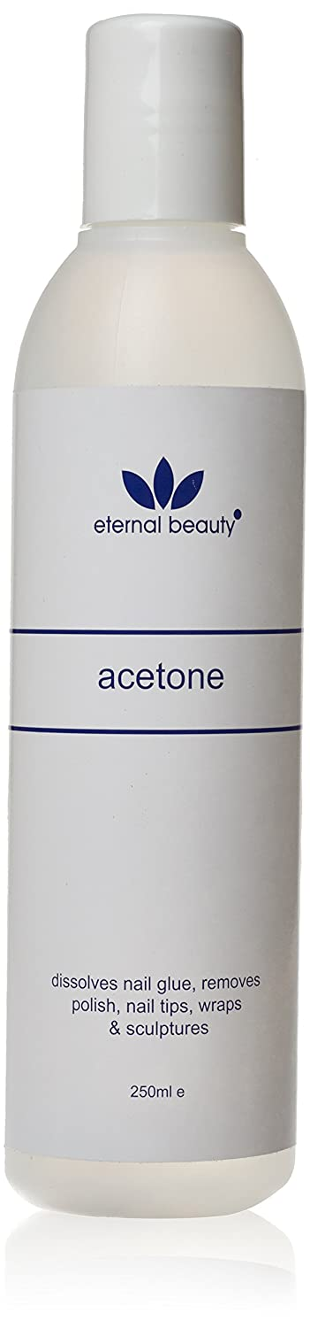 100% PURE ACETONE ARTIFICIAL NAIL REMOVER 250 ML***2 PCS DEAL*** ETERNAL BEAUTY