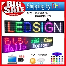 New P10 RGB led Scrolling display message board/Outdoor full color LED display/ Support computer USB programmablefor led signs