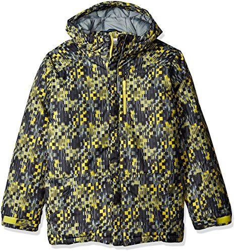89b02dc8d Columbia Big Boys' Lightning Lift Jacket, Mineral Yellow Block - Import ...