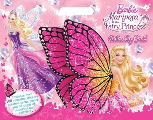 Barbie Mariposa A3 Activity Pad Barbie Mariposafairy