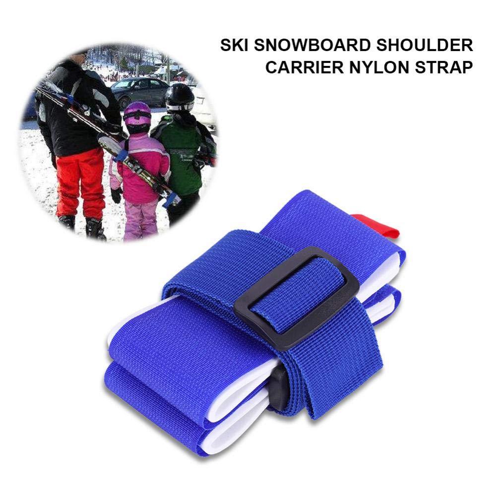 Dicke Starke verstellbare Schulterhalterung Snowboardbindung Outdoor-Tools f/ür Kinder M/änner Frauen Huairdum Skitasche Snowboard-Tragegurt
