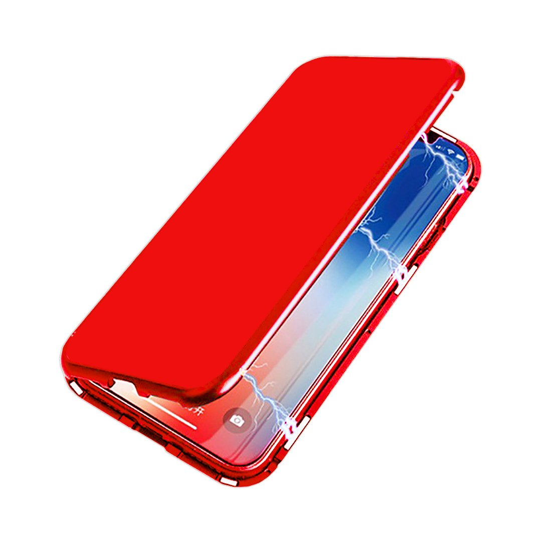 wholesale dealer 57b60 4eaac Amazon.com: Seabaras iPhone 8 Case Magnetic Adsorption Case for ...