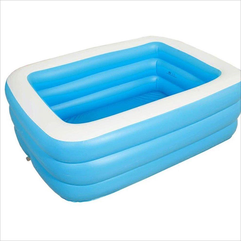 AJZGF Übergroße aufblasbare Badewanne Verdicken Erwachsene Badewanne Kinder Badewanne Swimmingpool faltende Badewanne Badewanne (Größe   1258545cm)