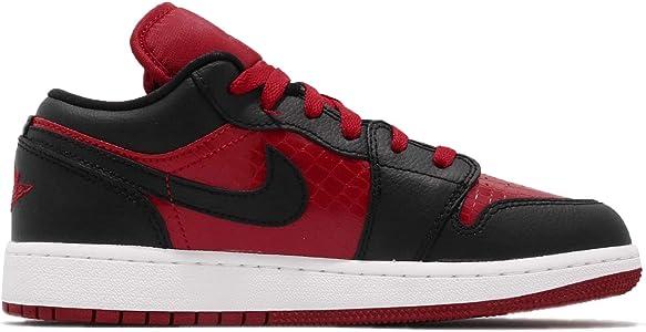 Nike Air Jordan 1 Low (GS), Zapatillas Unisex Niños, Rojo (Gym Red ...