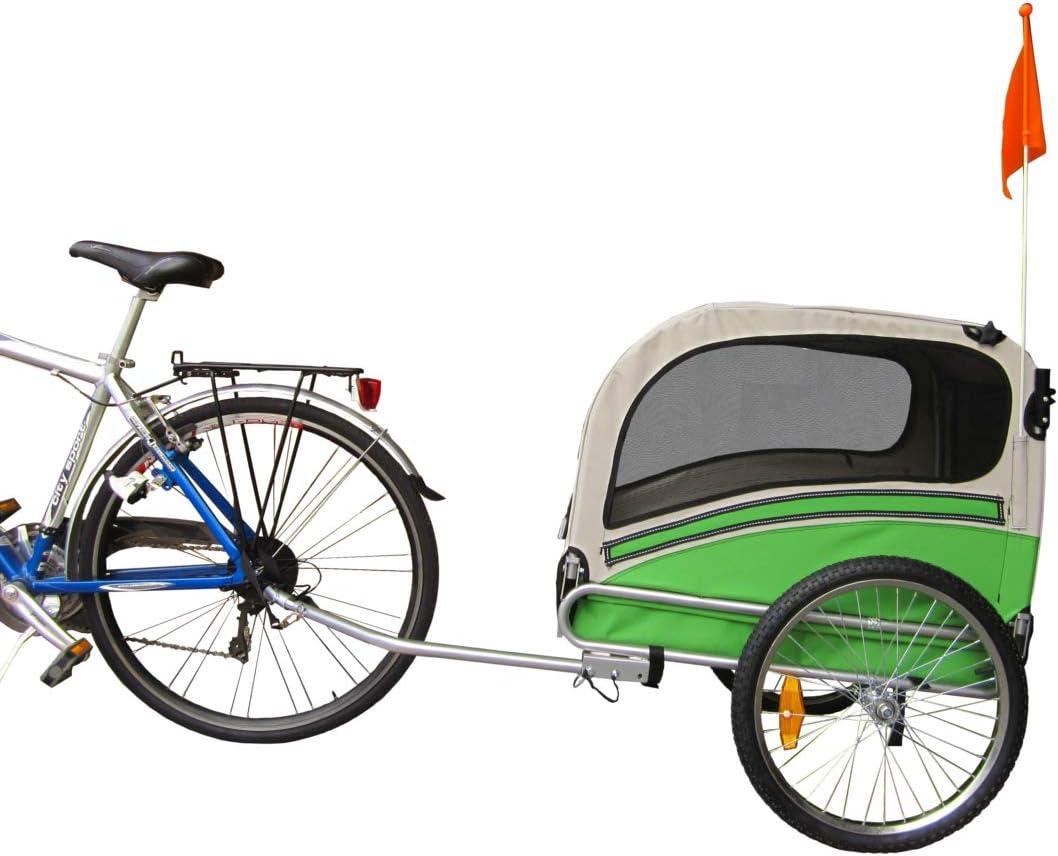 PAPILIOSHOP ARGO Remolque y carrito cochecito para el transporte de perro perros mascota por bici bicicleta carro bicicletas silla de paseo: Amazon.es: Deportes y aire libre