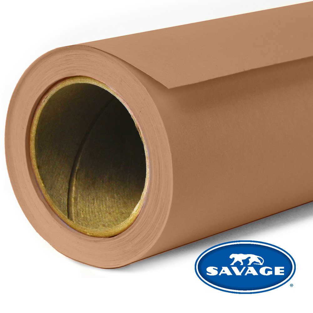 Savage Seamless Background Paper - #76 Mocha (107 in x 36 ft) by SAVAGE