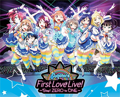 Love Live! Sunshine!! Aqours First Love Live! - Step! ZERO to ONE - Blu-ray Memorial Box by