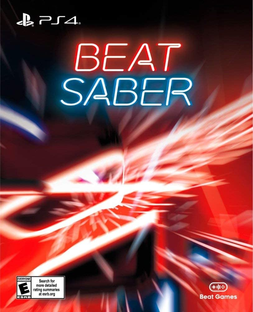 Amazon com: PlayStaion 4 VR Beat Saber - Full Game - Key
