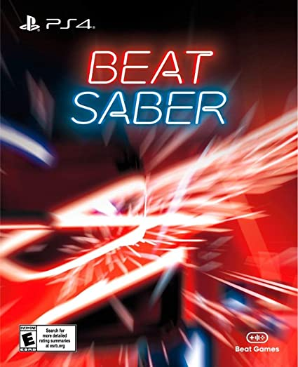 PlayStaion 4 VR Beat Saber - Juego completo - Tarjeta clave ...