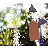 100pcs Kraft Paper Gift Tags with Free 100 Root
