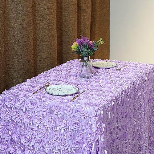 (B-COOL Rose Pattern Tablecloth 60