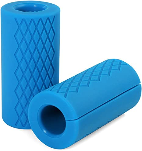 Pellor – Agarraderas universales de silicona para pesas ...