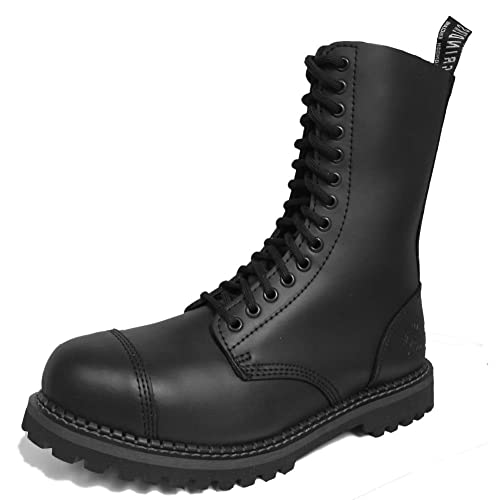 81f6d4ad05d8cc Grinders Herald 2015 Matte Finish Mens Safety Steel Toe Cap Boots Size UK 3