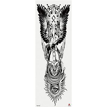Handaxian Brazo Completo Tatuaje Pegatinas Flor Grande ...