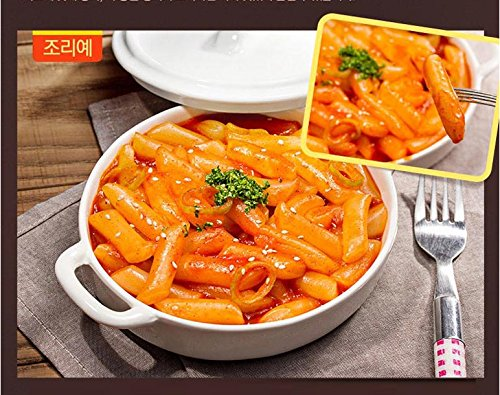 Yopokki Prepared Korean Rice Cake Instant Packet New Very spicy(1 Pack,Very Hot & Very Spicy)