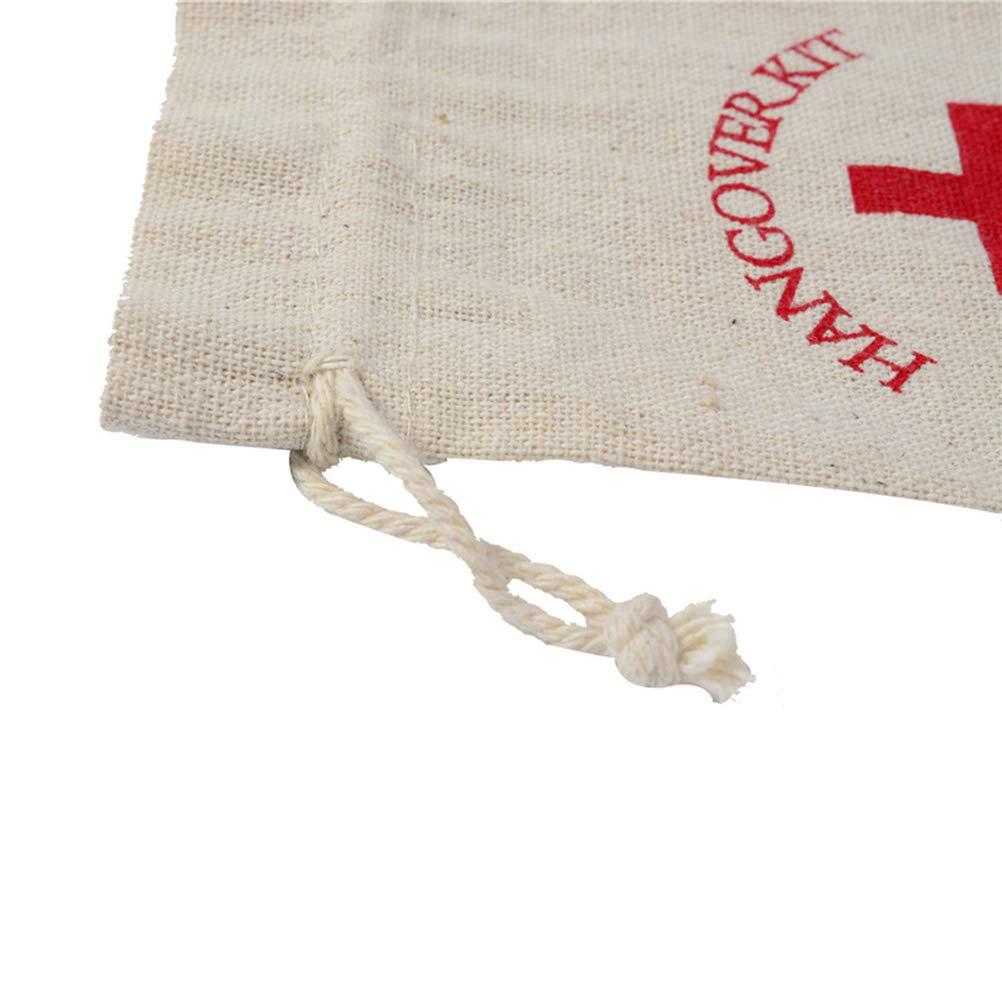 Vosarea 20 unids Cruz Roja Bolsas de Lazo Bolsas de joyer/ía Favores de Caramelo Bolsas de Regalo para la Boda de Navidad Fiesta de cumplea/ños 14x10 CM