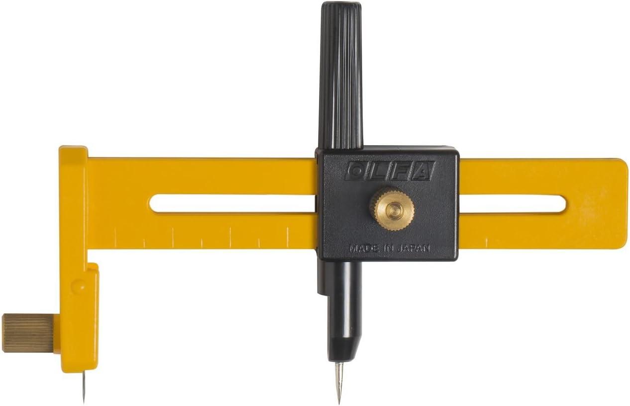 B000BK7NWC OLFA 9911 CMP-1 Compass Circle Cutter 61eFYI6GliL