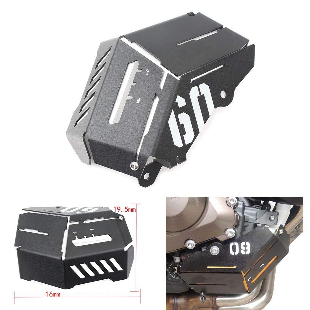 MeterMall F/ür Yamaha MT-09 FZ-09 FJ-09 MT-09 Tracer//Tracer 900 2014-2016 Motorradzubeh/ör K/ühlmittel-Ausgleichsbeh/älter Abschirmdeckel Gold