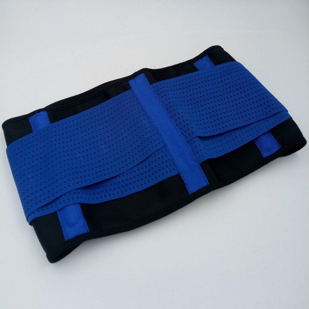8ef53faf35 Amazon.com  DBHAWK Women s Waist Trainer Belt-Waist Trimmer-Slimming Body  Shaper Belt-Sport Girdle Belt Slimming Belt (Blue
