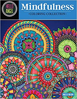 Hello Angel Mindfulness Coloring Collection (Design ...