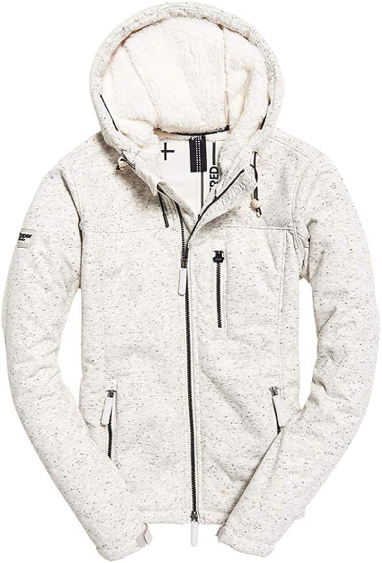 Superdry Womens Hooded Winter Windtrekker Sports Jacket