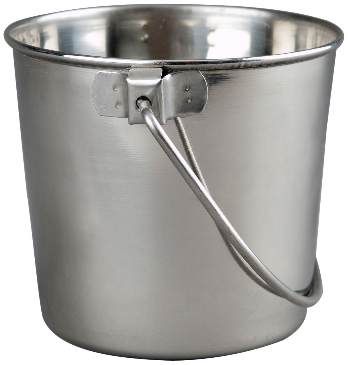 Advance Pet Products Heavy Stainless Steel Round Bucket