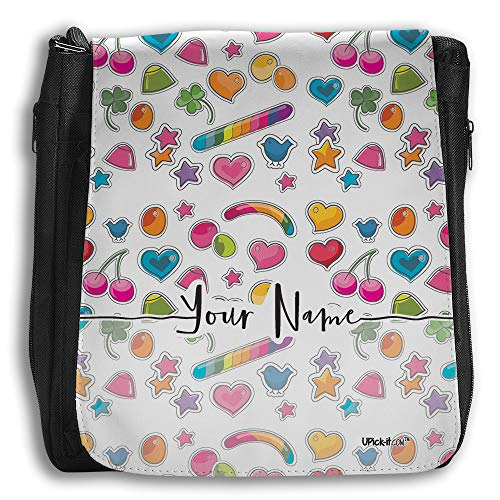 UPICK-IT´S Bag (Medium), Personalized with your name and different Backgrounds to choose (Candies List)