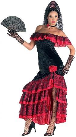chiber Disfraces Disfraz Bailadora Flamenca: Amazon.es: Juguetes y ...