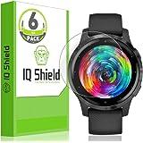 IQ Shield Screen Protector Compatible with Garmin Vivoactive 4s (40mm)(6-Pack) LiquidSkin Anti-Bubble Clear Film