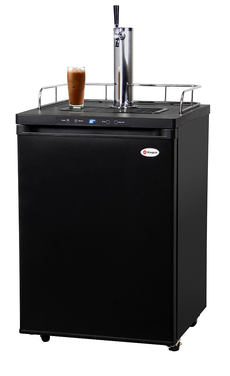 Kegco ICK30B-1 Digital Javarator Cold-Brew Coffee Dispenser - Black