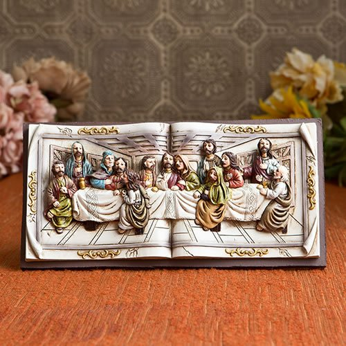 5 Magnificent Last Supper Wall Plaque From Gifts By Fashi...