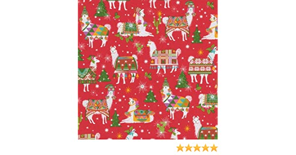 fb3d41ee38b3b Amazon.com  Wrapping Paper 8 Foot Roll Christmas Gift Wrap Ideas Hello  Dolli Red