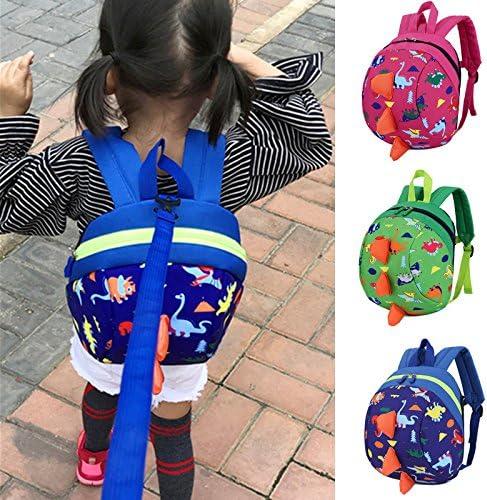 LVEDU Mochila de arnés para niños con cuerda antipérdida, mochila ...