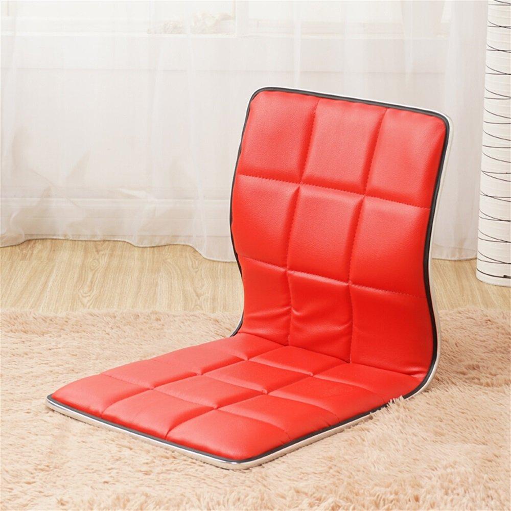 ずっと気になってた ベンチ B07DHHSTCZ 床の椅子怠惰なソファ和風ベントウッドシングルベッドの義理のない寮コンピュータ背もたれの椅子 (A++) (色 赤 : 赤) 赤 (色 B07DHHSTCZ, 紳士靴専門店BOOM:0e51f352 --- cliente.opweb0005.servidorwebfacil.com
