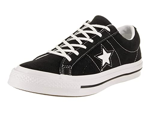 40394be4504c Converse Kids One Star Ox Black White White Casual Shoe 5 Kids US