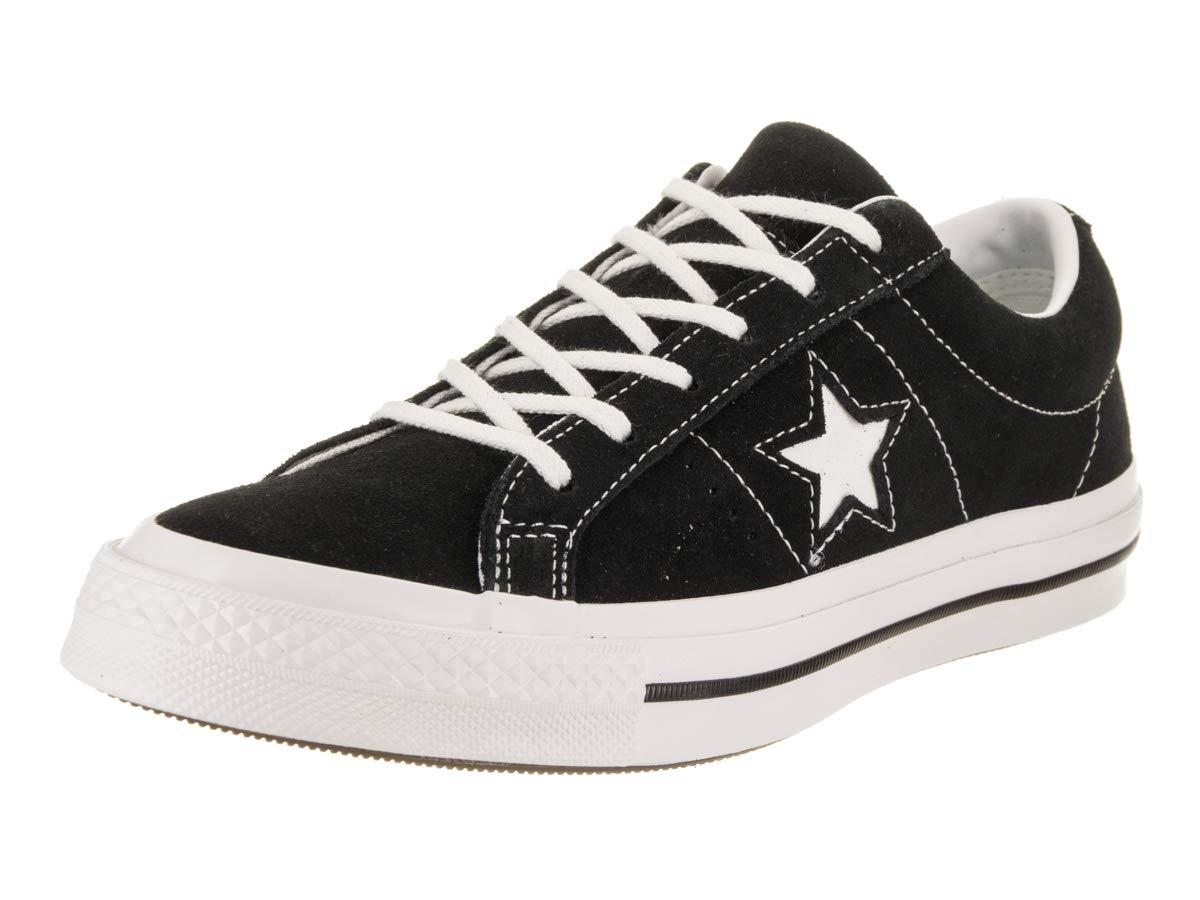 Converse Kids One Star Ox Black/White/White Casual Shoe 6 Kids US