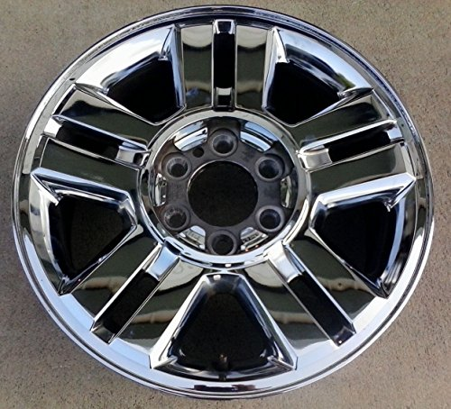 Ford F150 Alloy Wheel - 18 INCH 2004 2005 2006 2007 2008 Ford F150 TRUCK OEM CHROME CLAD ALLOY WHEEL RIM 7L34-1007-BA 3559 18x7.5