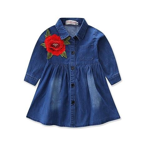 ✿Vestidos Bebes NiñA Tuc Tuc, Princesa De Mangas Largas para NiñA PequeñA Vestir Trajes Mayoral 80-120: Amazon.es: Ropa y accesorios