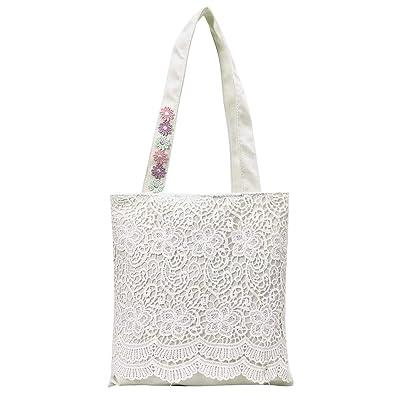 Luckycat Grande Shopper y bolsos Personalised Encaje Tote ...