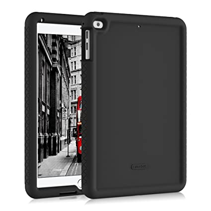 watch 3dce8 2621e Fintie iPad 9.7 2018/2017, iPad Air 2, iPad Air Case - [Mighty Shield]  Heavy Duty Anti Slip Shock Proof Kids Friendly Drop Protection Silicone  Cover ...