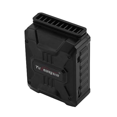 FairytaleMM En Blanco y Negro Ultra silencioso Mini vacío USB portátil Enfriador Extractor de Aire Ventilador