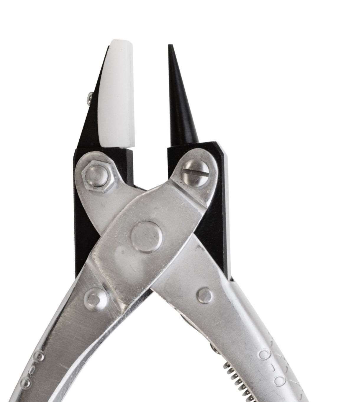 PARALLEL ACTION PLIERS ROUND & FLAT NYLON JAW NOSE PLIER 140mm JEWELRY WIRE WORK (6E) NOVELTOOLS