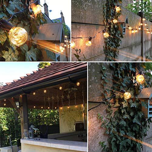 Weihnachtsbeleuchtung Aussen Ersatzbirnen.Led Lichterkette Glühbirnen Innen Außen Warmweiß G40 Globe