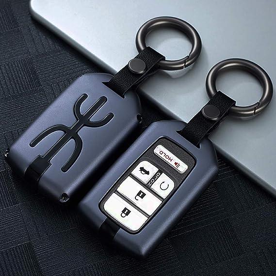 Men`s Zinc Alloy Stylish Oval Key Chain Keyring Key Fob Car Belt Holder Organize