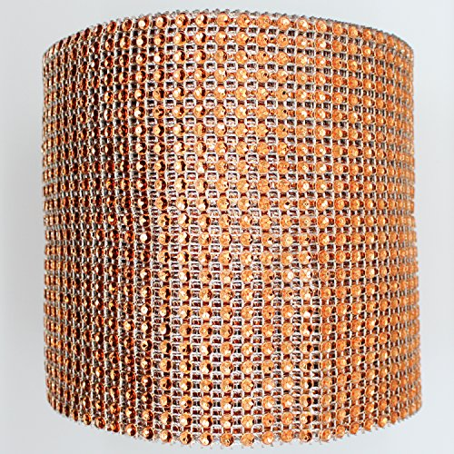 Rhinestone Orange (Blinggasm 5 Yards X 4.75